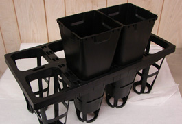 Various Agricultural Growing Trays